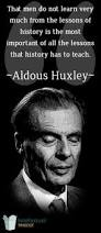 Can't We Be Happy All The Time? Learning From Huxley's Brave New World